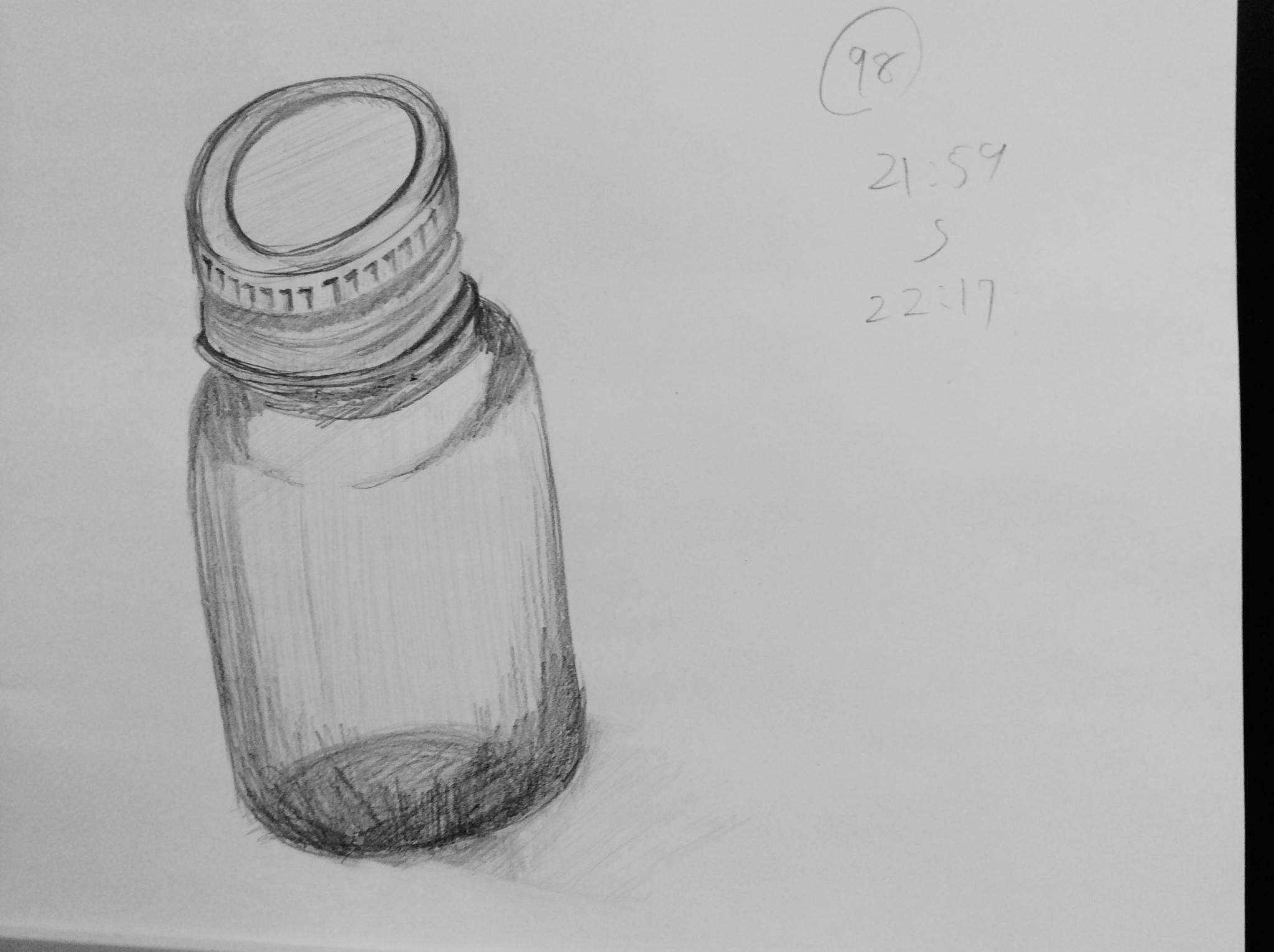 【1日1スケ】瓶
