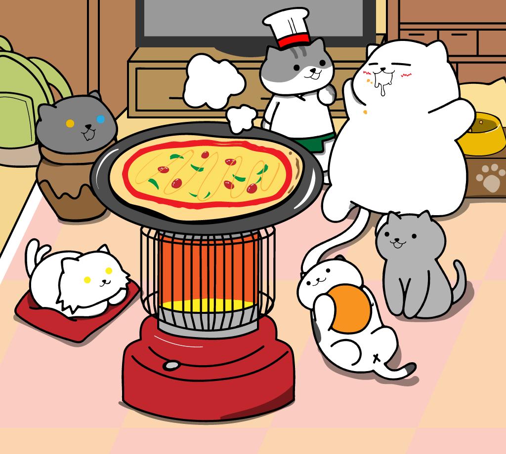 みんなでピザパーティ